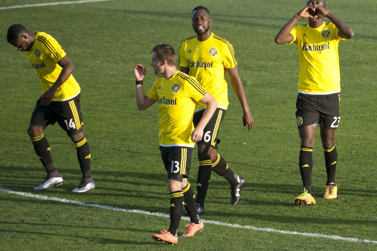 Ethan Finlay (front, center) and Tony Tchani (back, center) have each received international call-ups.