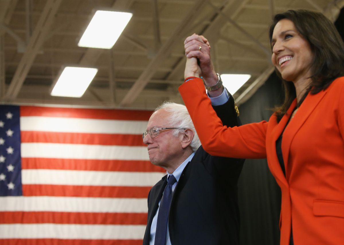 Democratic Presidential Candidate Bernie Sanders Campaigns In Pennsylvania