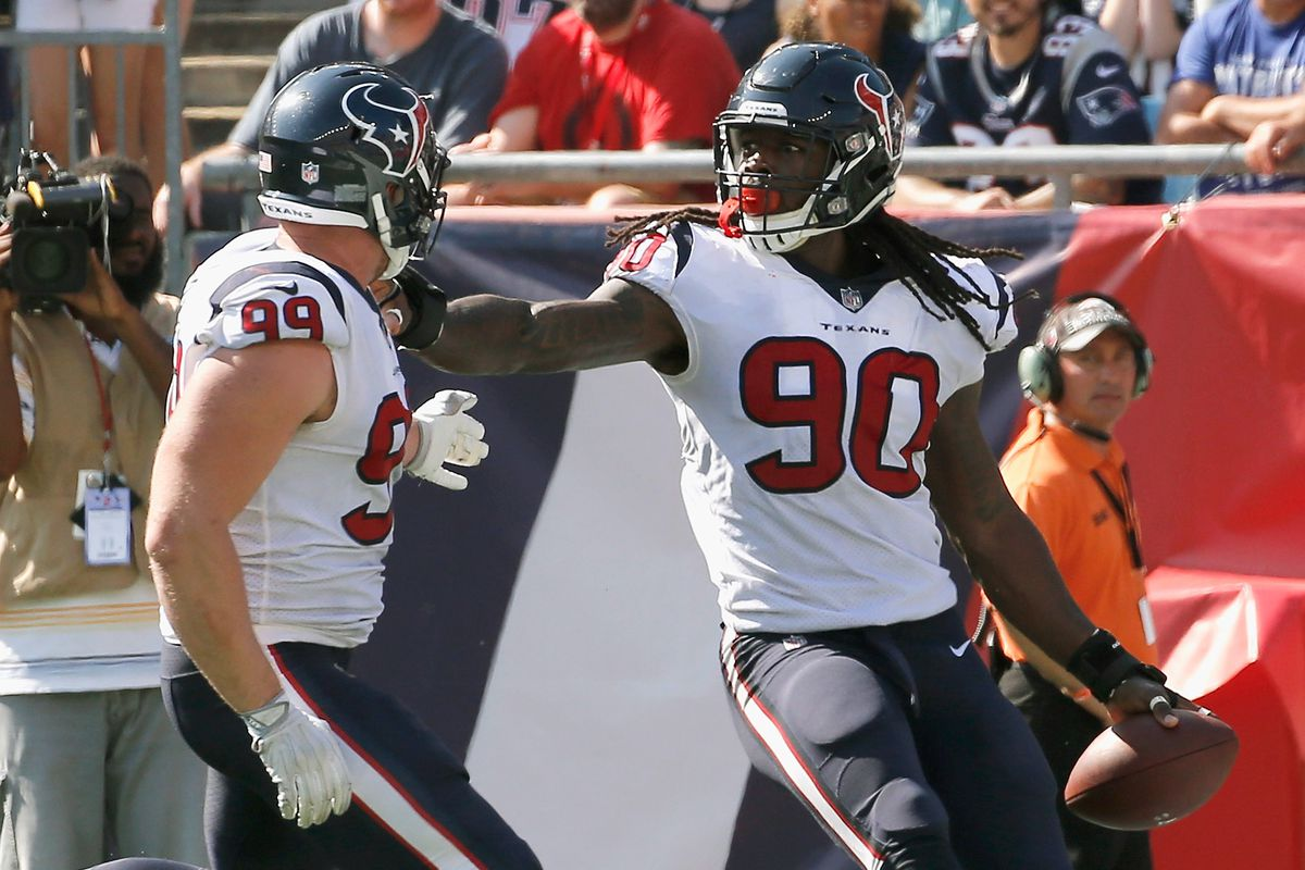 reputable site 2dd3e 54082 Four Texans Named To Pro Bowl - Battle Red Blog