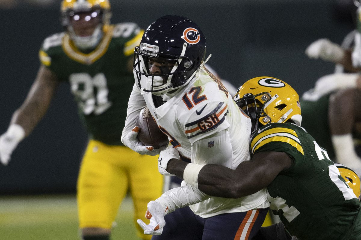 Allen Robinson had two catches for 37 yards in the loss to the Packers.