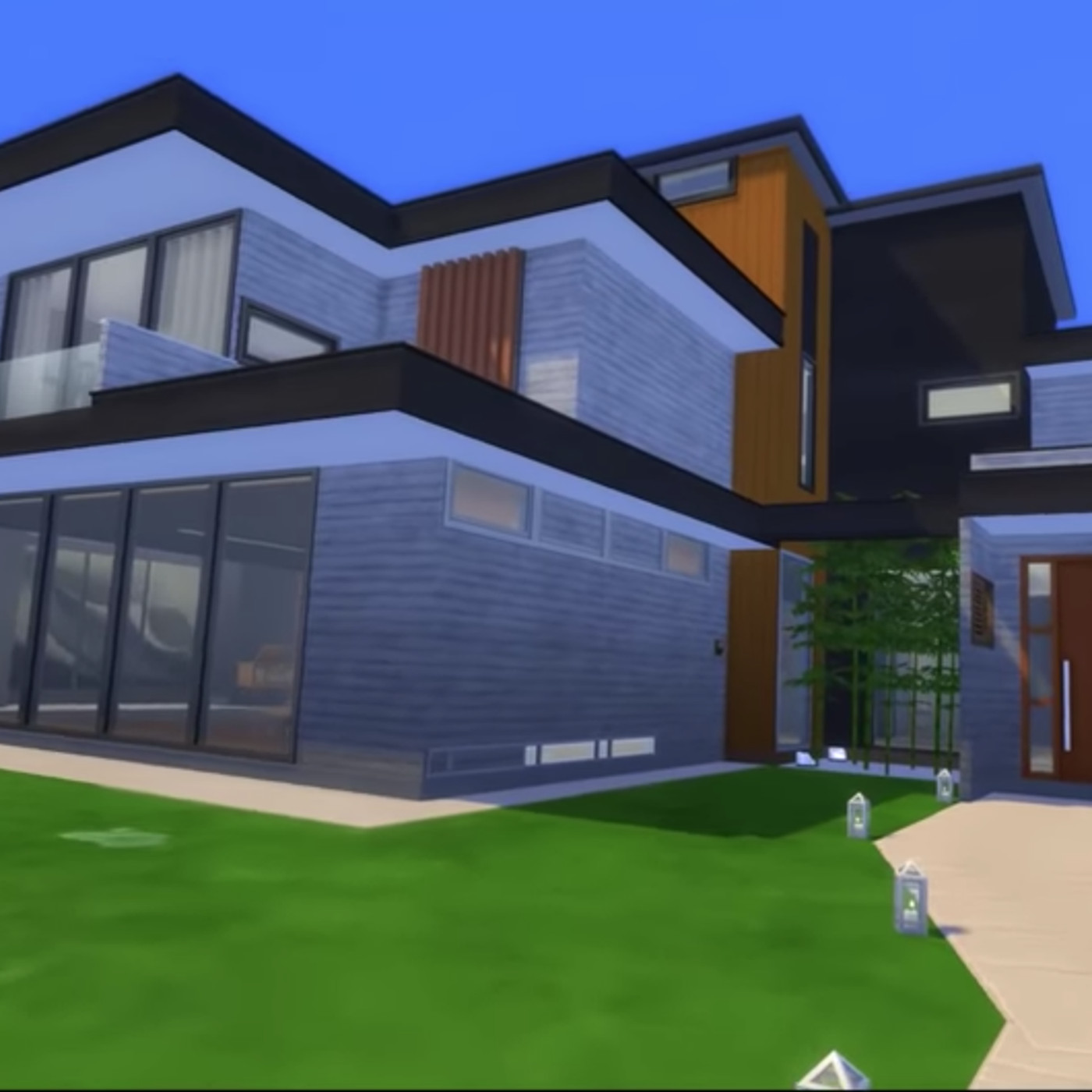 Parasite House Recreated In The Sims 4 Curbed All of the houses in bloxburg (besides the prebuilt ones the player can choose from when they start a new game) are, in fact. parasite house recreated in the sims 4