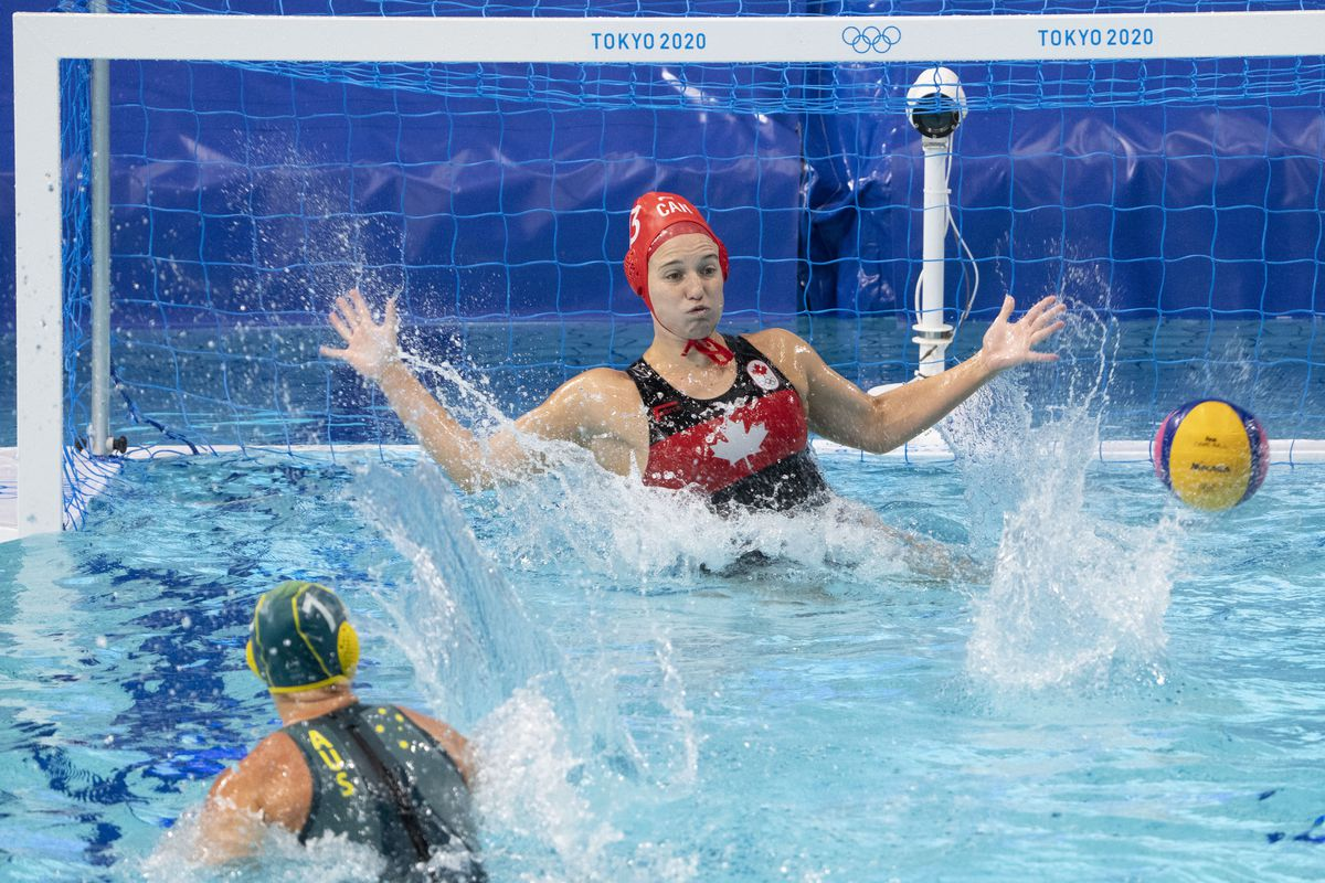 Olympics: Water Polo-Women Group A - CAN-AUS