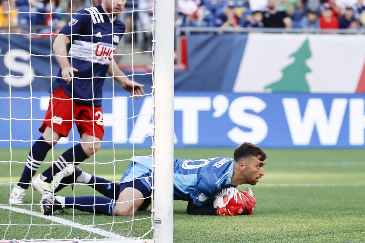 SOCCER: JUN 23 MLS - New York Red Bulls at New England Revolution