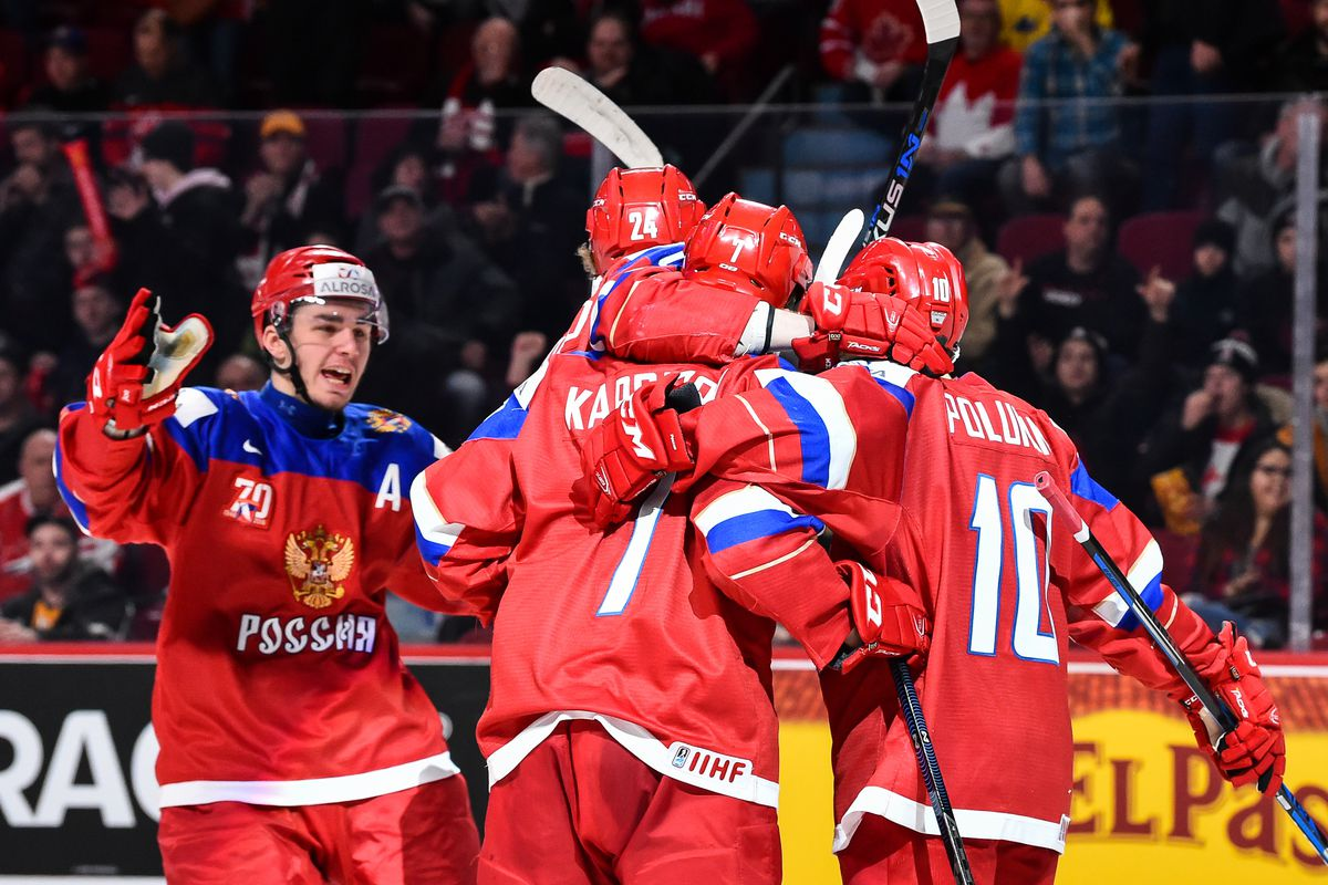 2018 World Junior Hockey Championship Team Russia Preview Roster