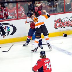 Hendricks and Rinaldo Fight