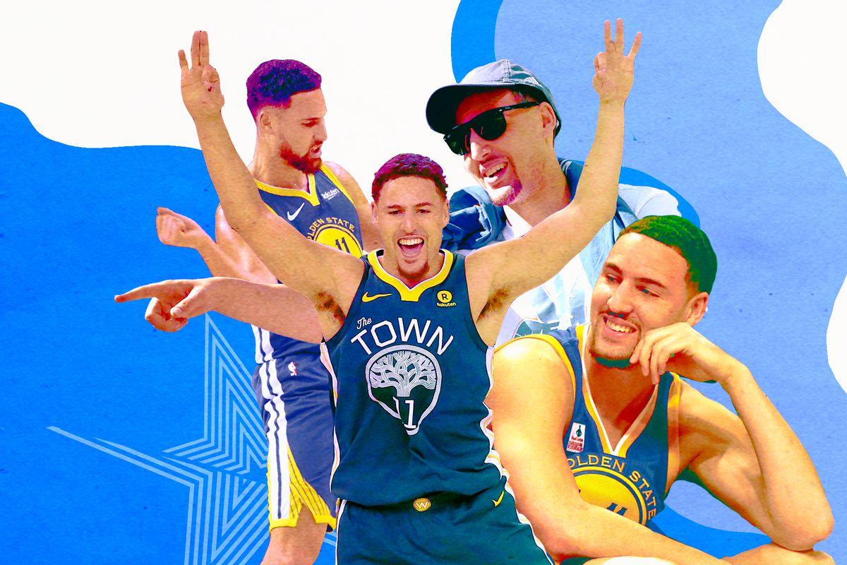49151fccc3b0cc Klay Thompson is the most accidentally funny player in the NBA ...