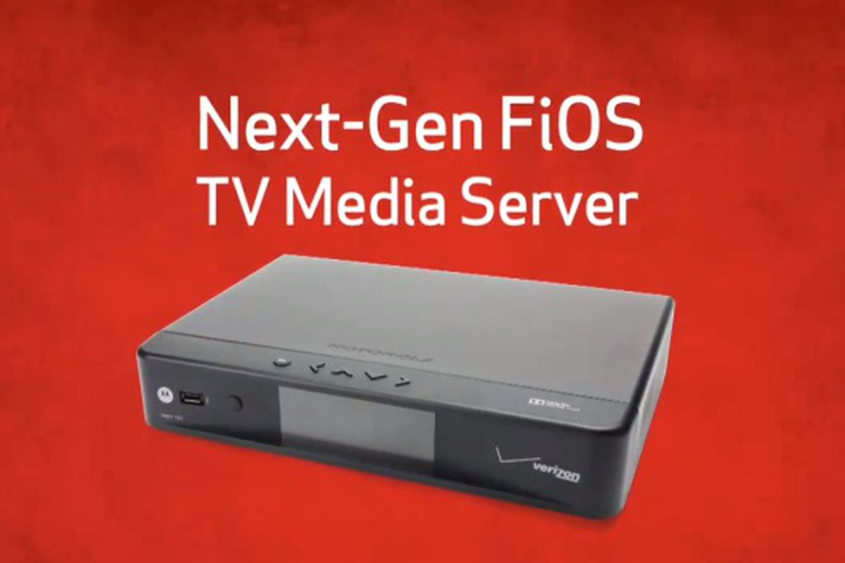 Verizon FiOS TV Media Server
