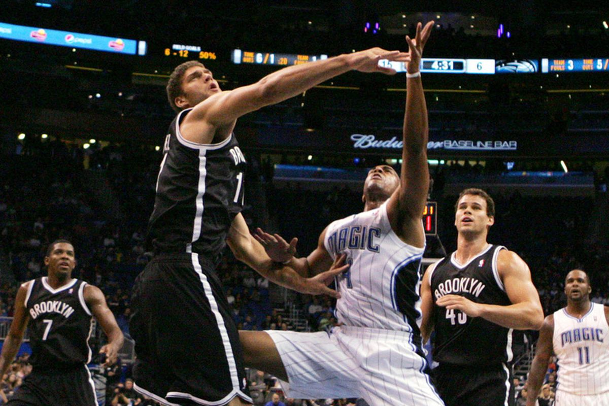 Brook Lopez and Arron Afflalo