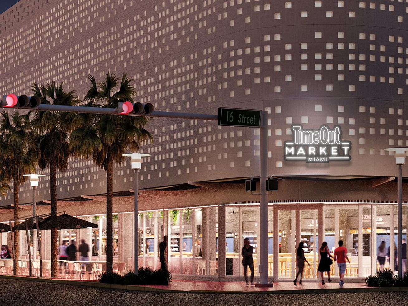 Rendering of the future Time Out Market Miami