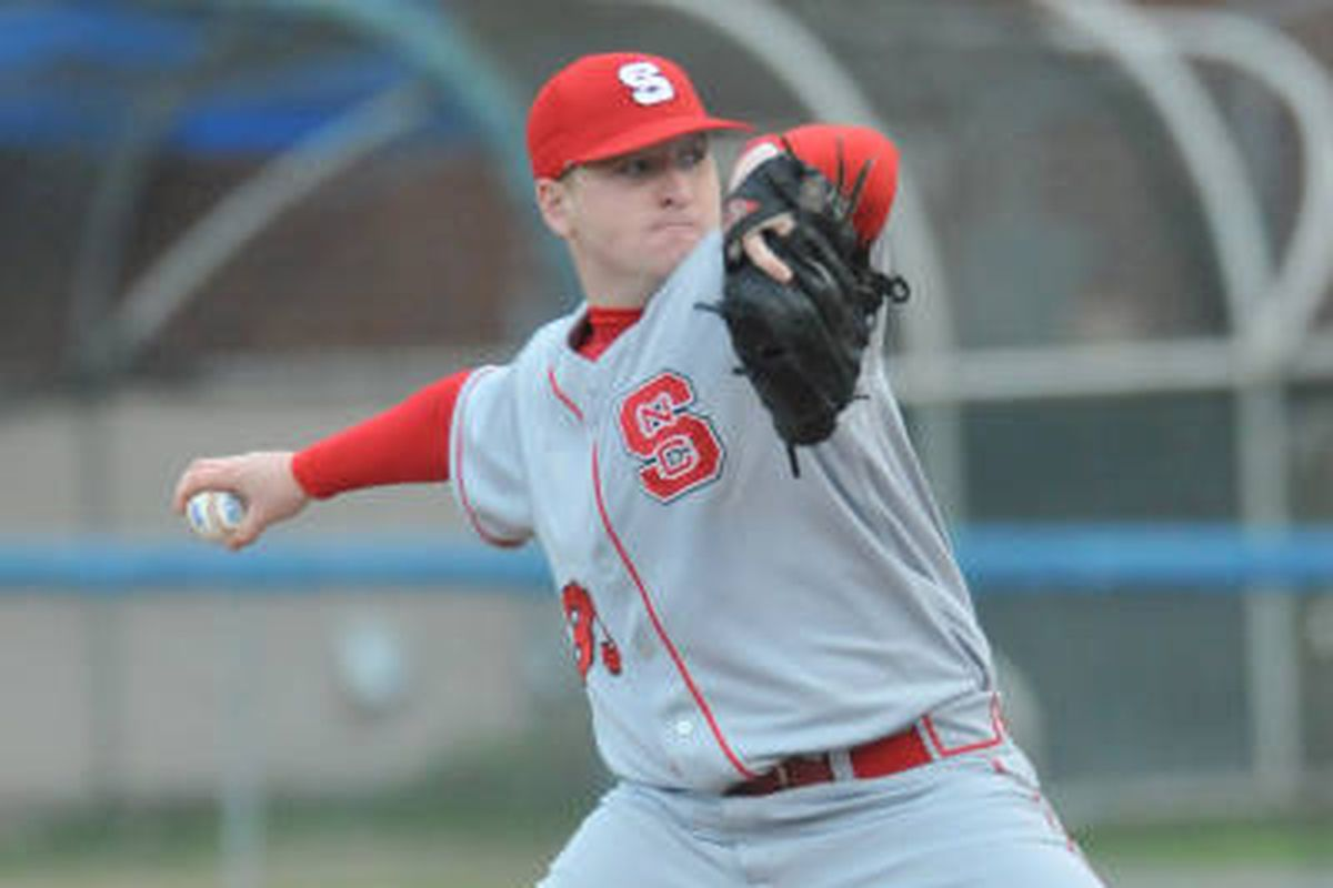 Jake Buchanan pitched a 6-hitter Friday night against Maryland.