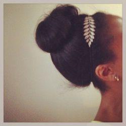 I'm thinking I'll finish the week with a Grecian inspired <b>Jennifer Behr</b> headband and topknot. Yep, perfect!