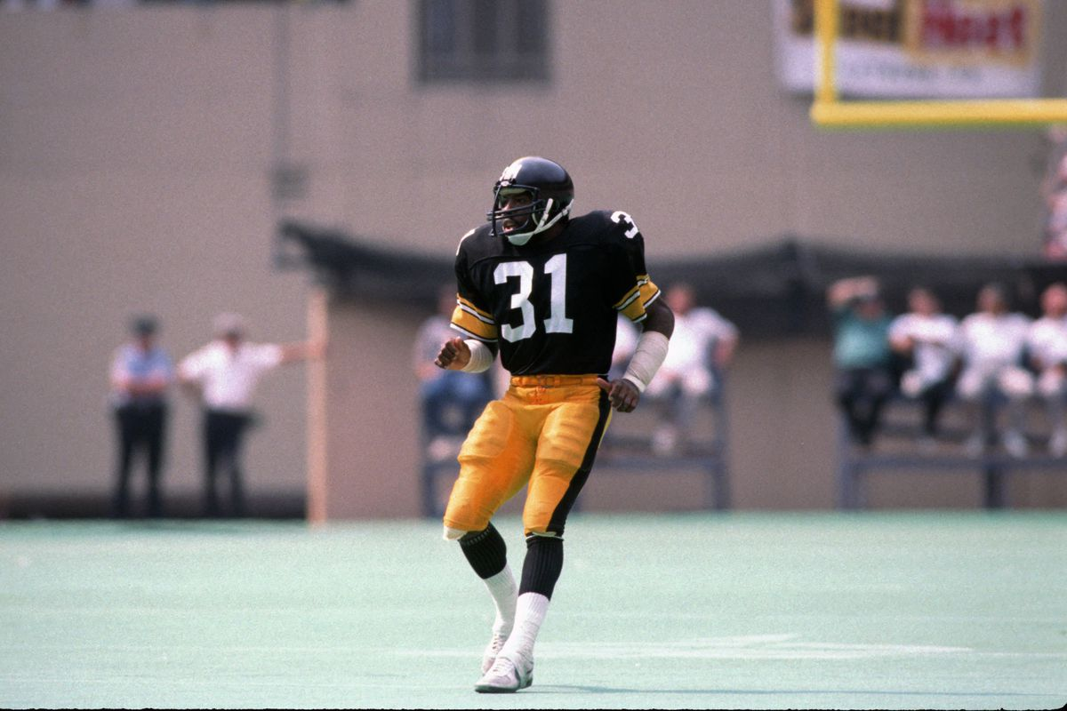 Steelers Donnie Shell