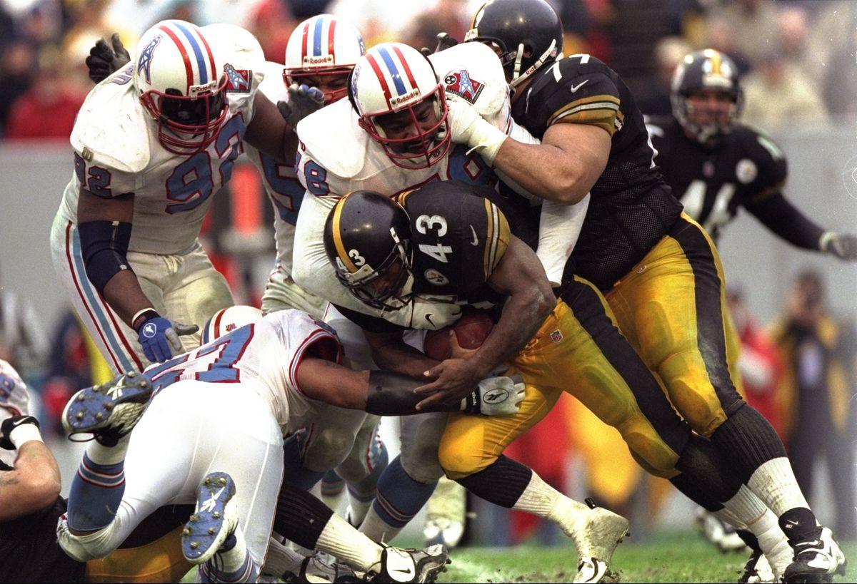 Steelers v Oilers Jones