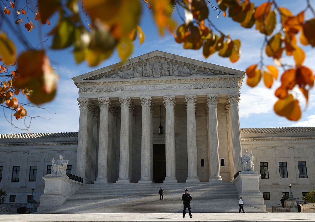 The US Supreme Court on November 8, 2018, the day after the hearing for USS Cole victims against Sudan's government.