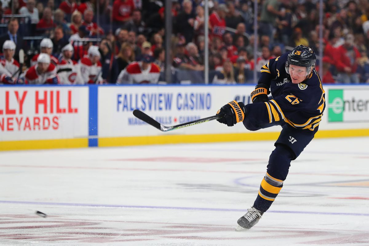 Buffalo Sabres at San Jose Sharks Preview: Can't help Dahlin in love