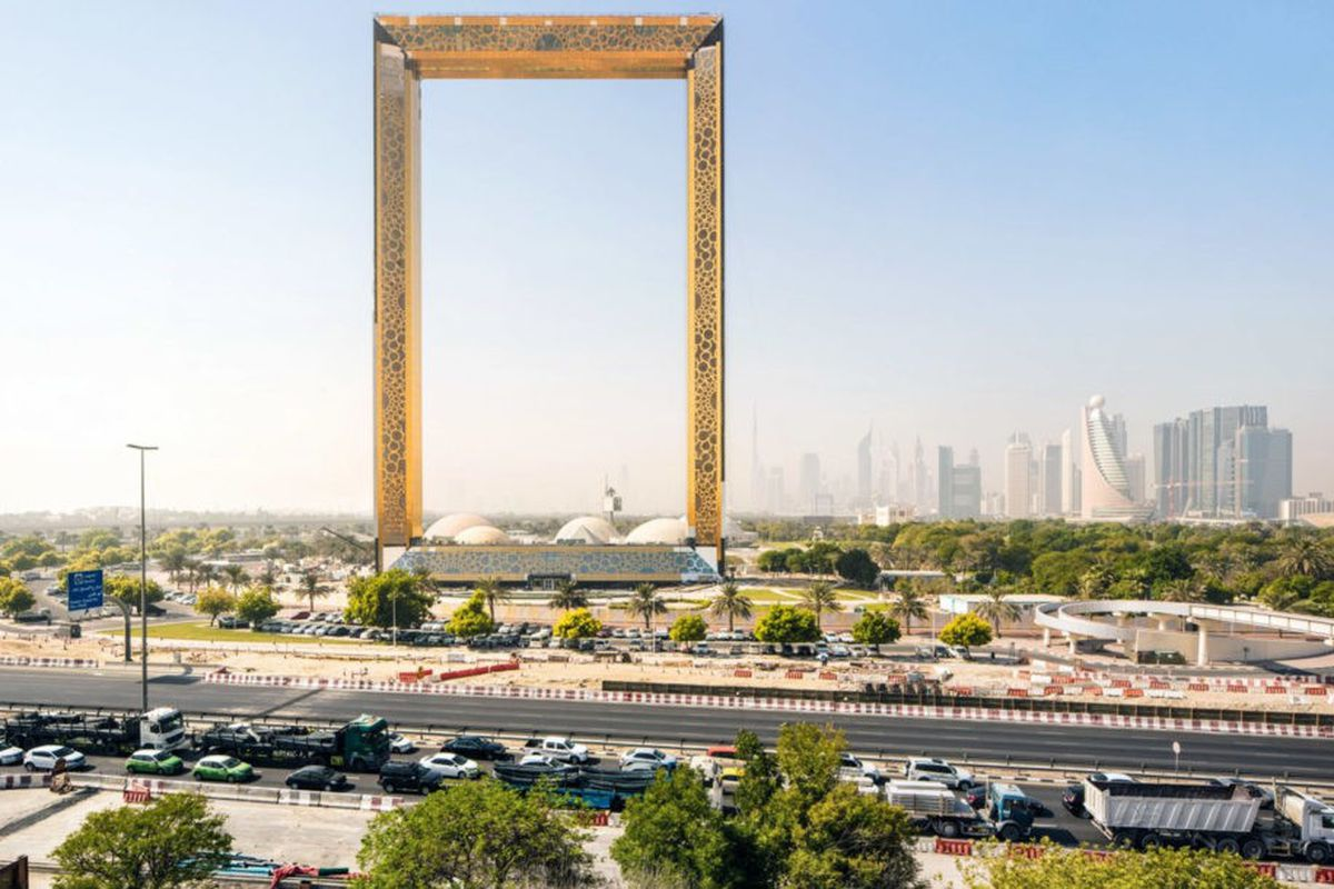 Dubai Unveils World S Largest Picture Frame Curbed