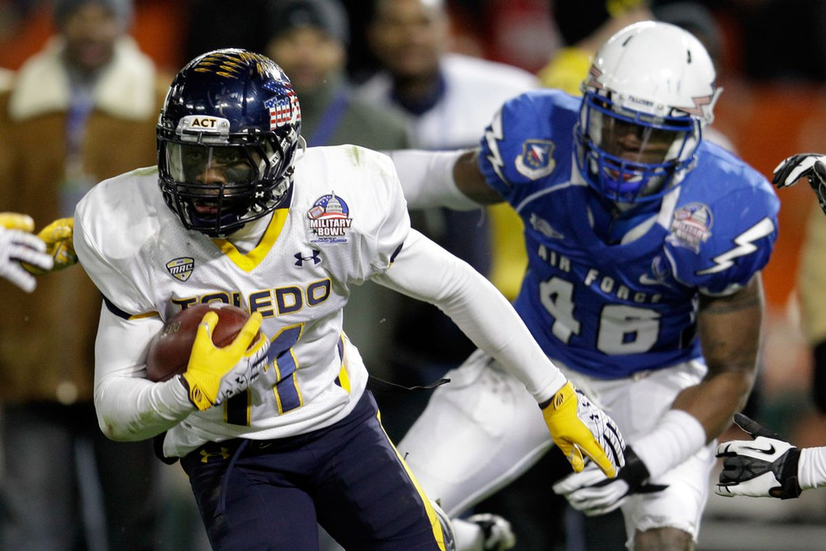 Bernard Reedy is just one of a couple of returning starters for Toledo. Expect growing pains in August.
