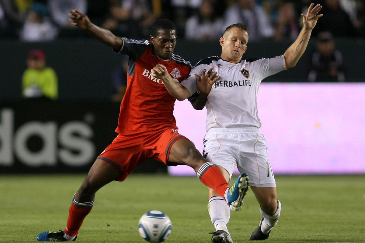 Doneil Henry plays for Toronto FC, but I forgive him. What a goal.