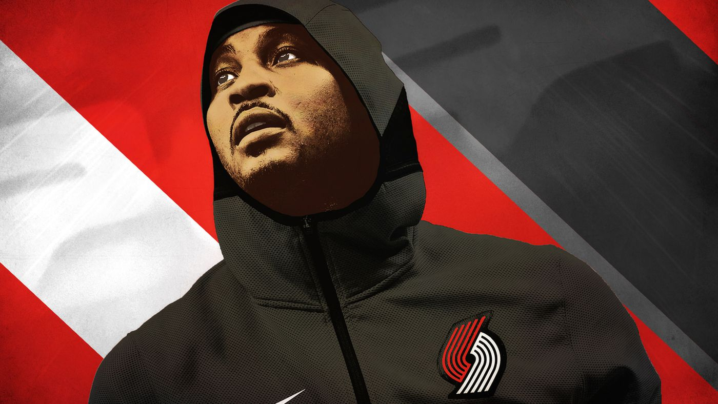 Carmelo Anthony Gets One Last Shot With the Blazers