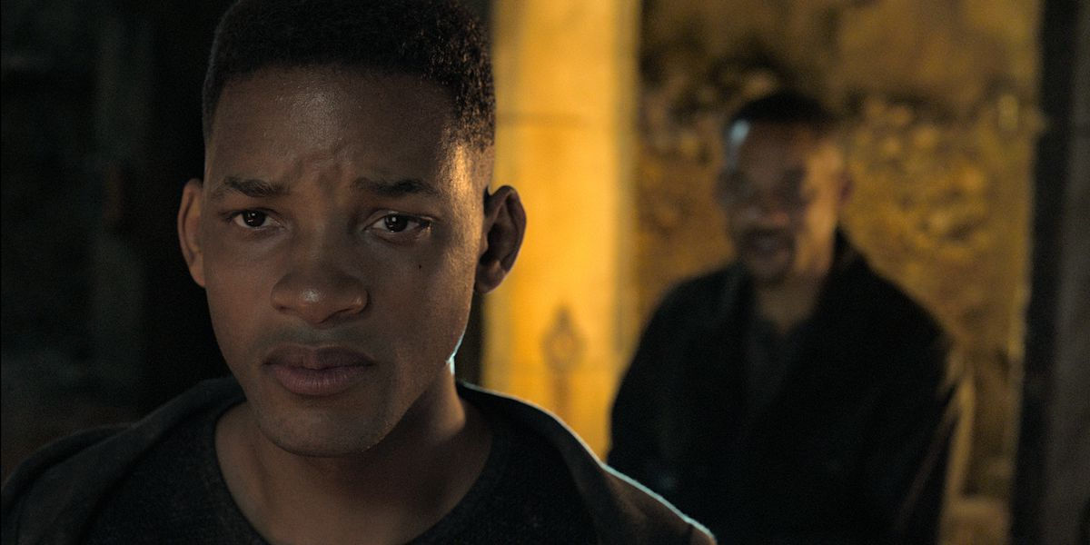 Will Smith grills his younger self in a new Gemini Man scene
