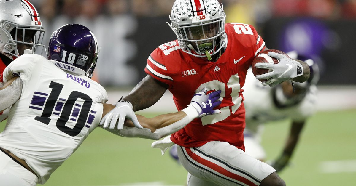 2019 Nfl Draft Profiles Wr Parris Campbell Fake Teams