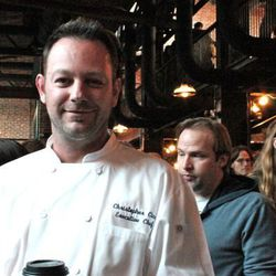 Chef Chris Cina of Ghost Plate & Tap