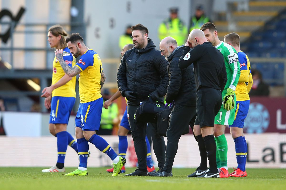 Former Liverpool striker Danny Ings is injured and could be out for three weeks for Southampton, including Cardiff City's visit