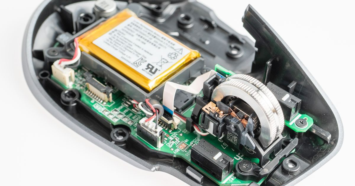 Logitech MX Master 3 teardown offers an intriguing look at its new scroll wheel