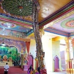 This tree inside the the Munesvaram Temple, near Chilaw, Sri Lanka, is considered sacred.