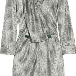 Printed silk-satin dress$375.0065% OFF$131.25