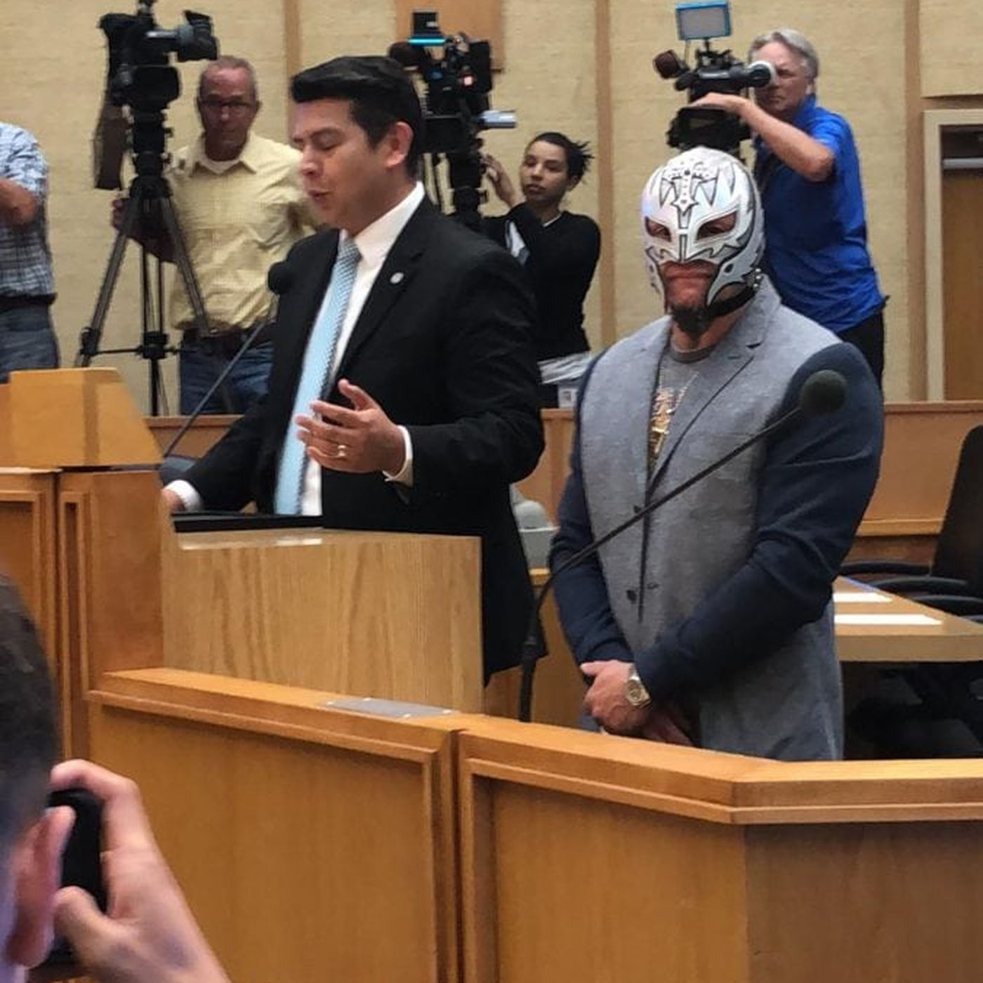 Its Rey Mysterio Day In San Diego Which Is An Excuse To See A