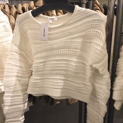 Sweater, size small, $139 (from $380)