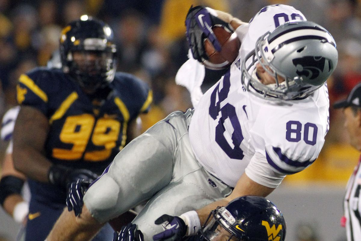 Travis Tannahill did some big things and helped K-State to win a Big 12 Championship while wearing No. 80. Now it's Cody Small's turn to step up and produce.