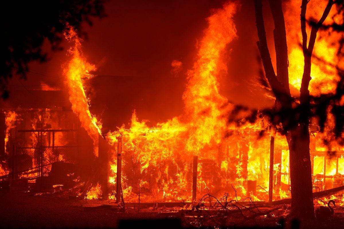 Shady Fire Santa Rosa California