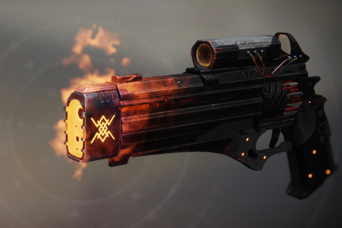 Destiny 2's For Wei Hand Cannon Ornament