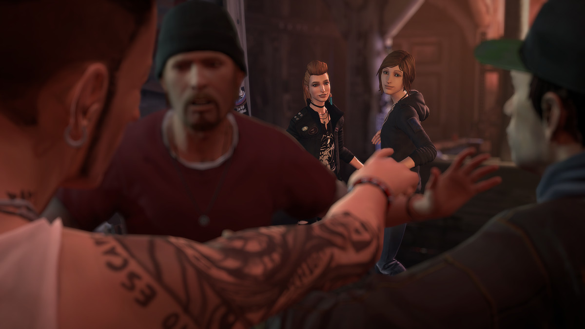 Life is Strange: Before the Storm - dudes arguing