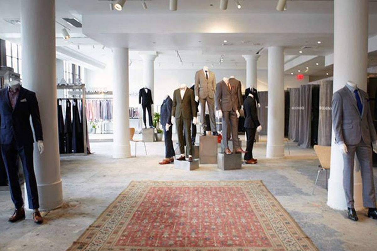 """Image of NY's pop-up via Indochino/<a href=""""https://www.facebook.com/indochino/photos/a.10150732023435320.454131.58434305319/10151762901580320/?type=3&amp;theater"""">Facebook</a>"""