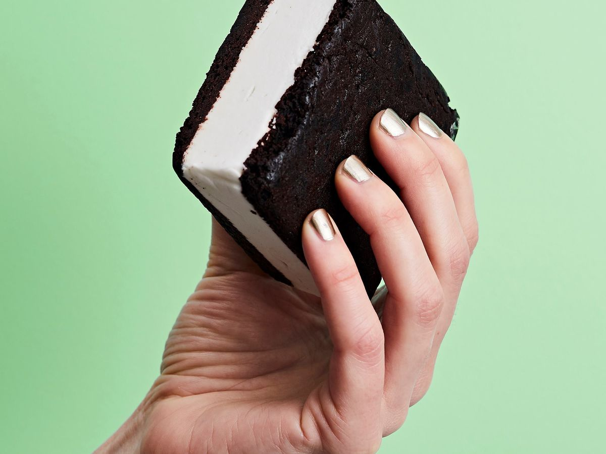 The vegan and gluten-free ice cream sandwich from Lick
