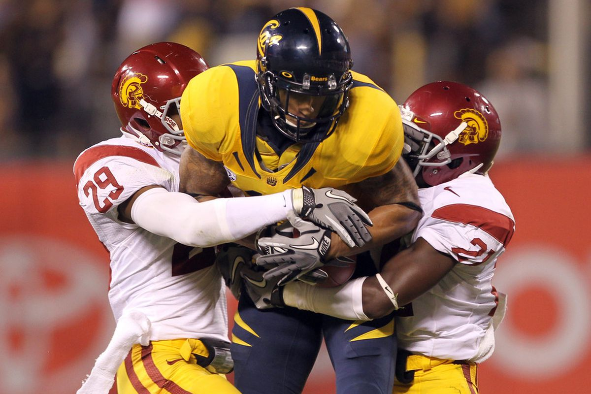 Cal and USC face off after suffering heartbreaking losses last week: someone's going to need a hug after Saturday's game.