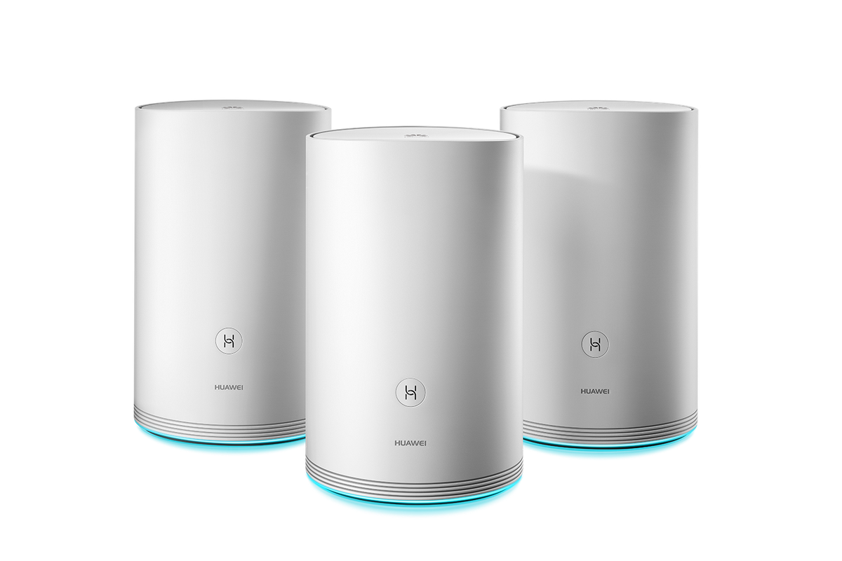 Huawei releases a mesh Wi-Fi system it claims has ultrafast
