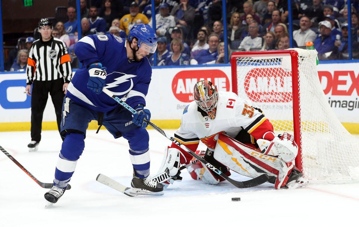 NHL: Calgary Flames at Tampa Bay Lightning