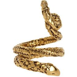 """<strong>Aurélie Bidermann</strong> Gold Tao Snake Ring, <a href=""""http://www.barneys.com/on/demandware.store/Sites-BNY-Site/default/Product-Show?pid=00505027705704&q=snake&index=3"""">$190</a> at Barneys New York"""