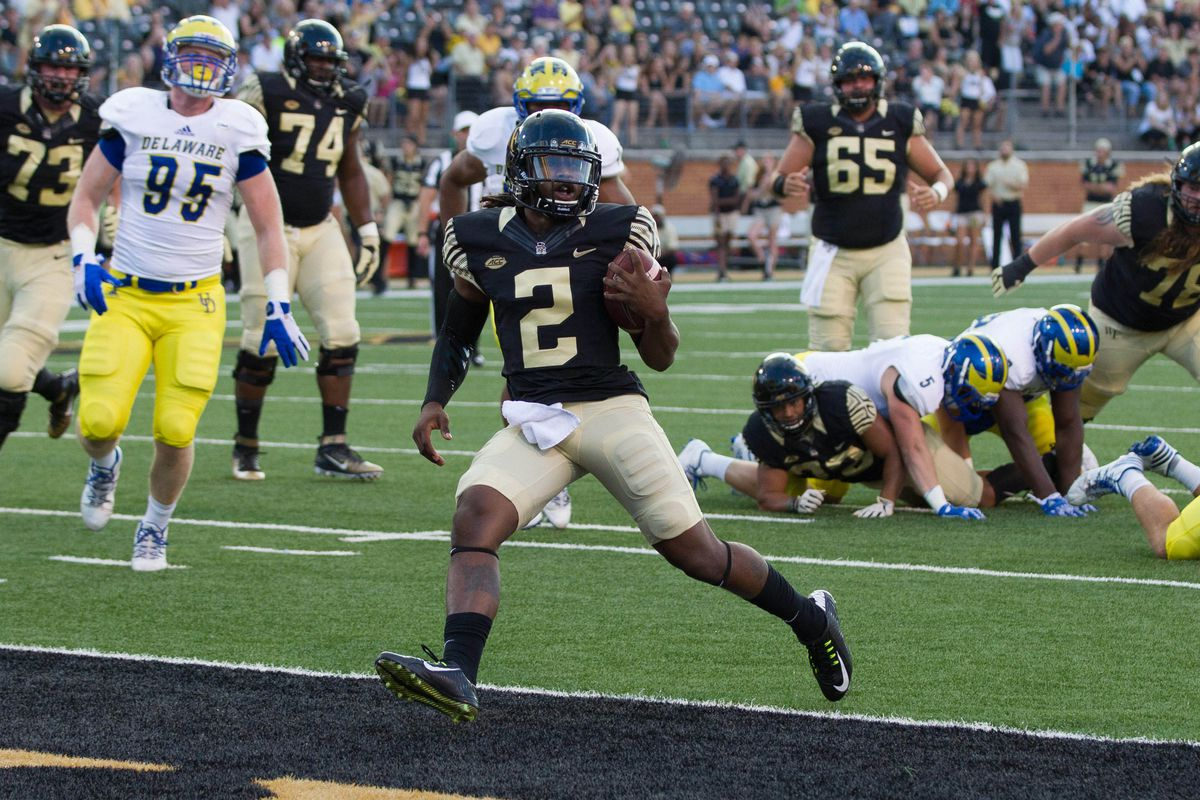NCAA Football: Delaware at Wake Forest