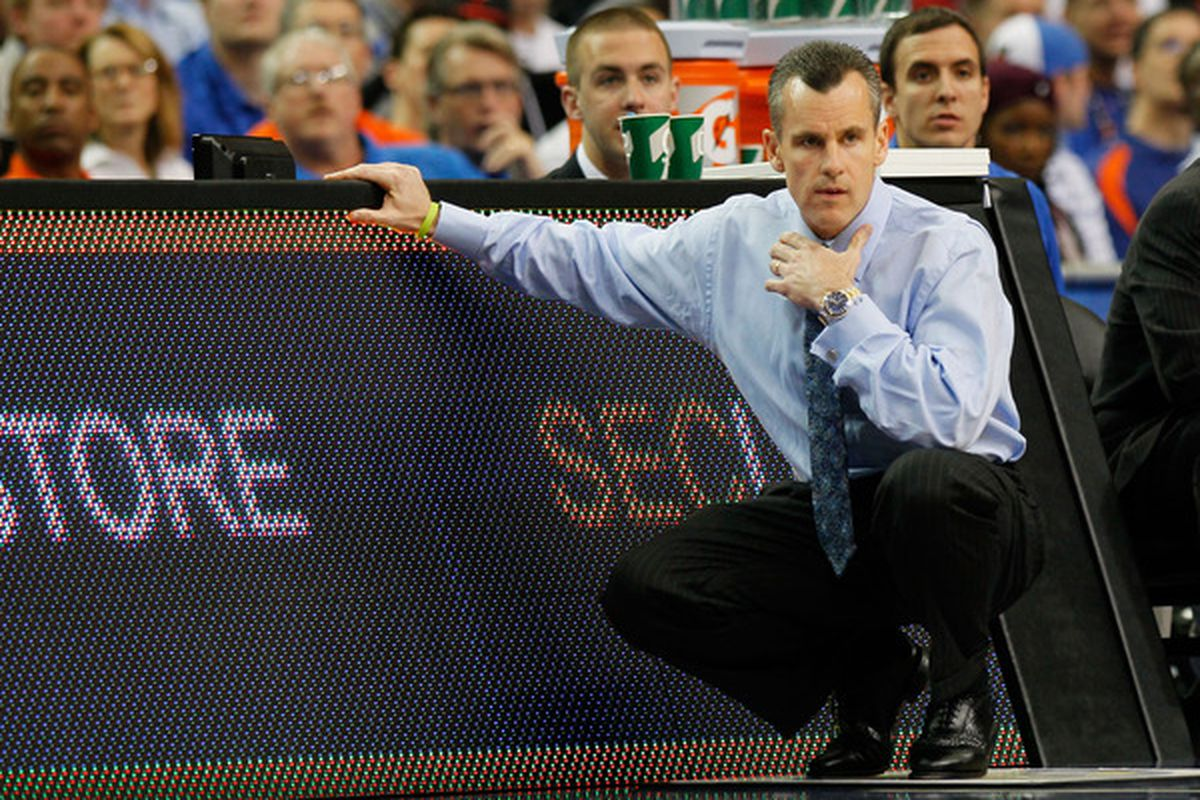 Billy Donovan almost didn't select Pitt recruit James Robinson (Photo by Kevin C. Cox/Getty Images)