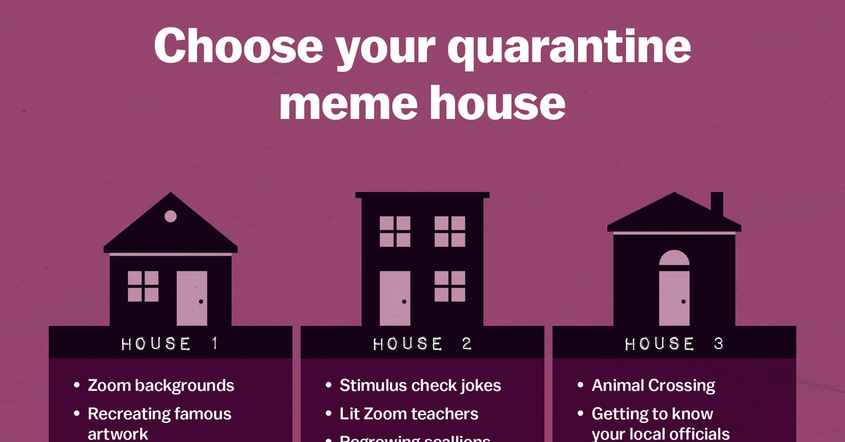 The Best Quarantine Memes Explained By Quarantine Meme Houses Vox