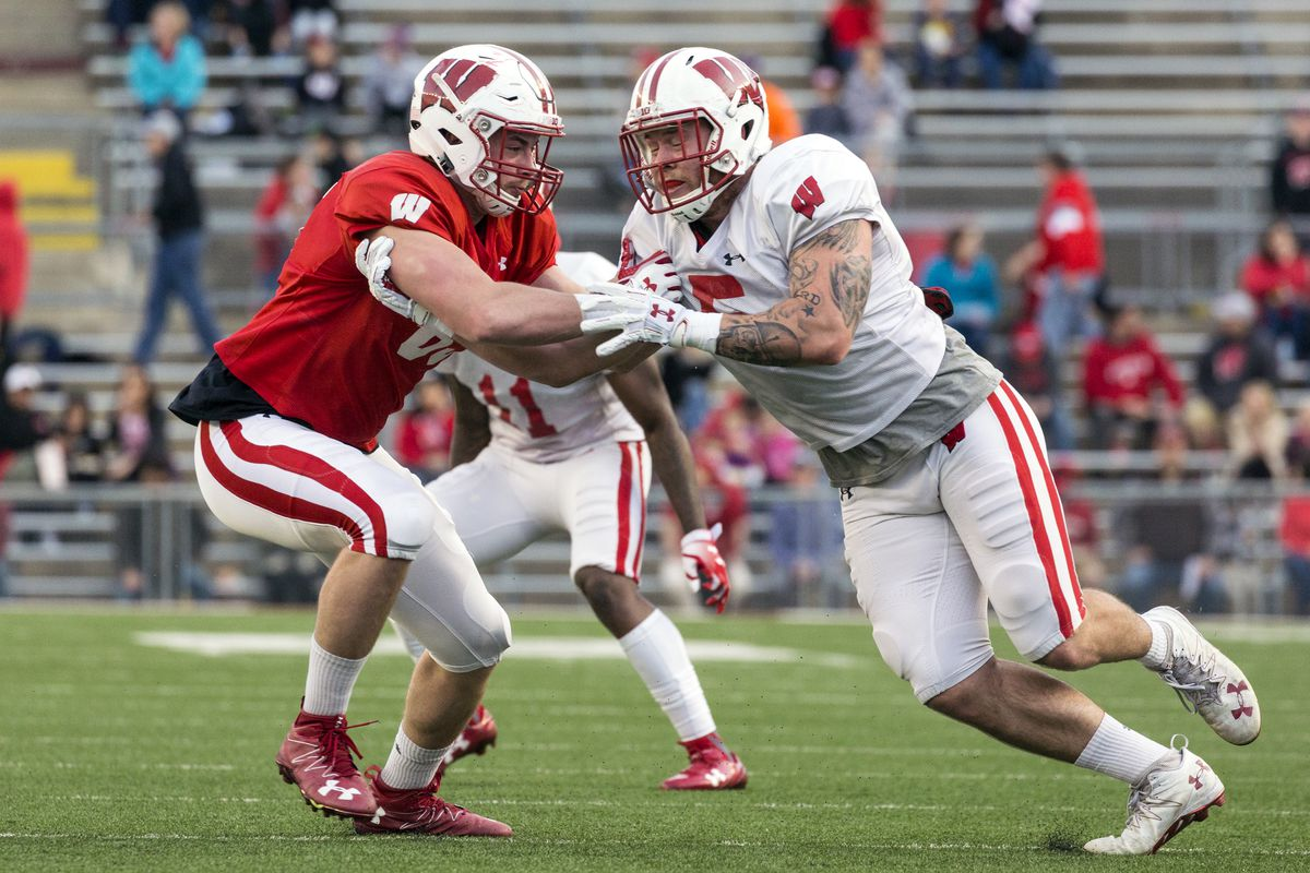 new product 20b0c 499ca Garret Dooley to lead Wisconsin's outside linebackers after ...