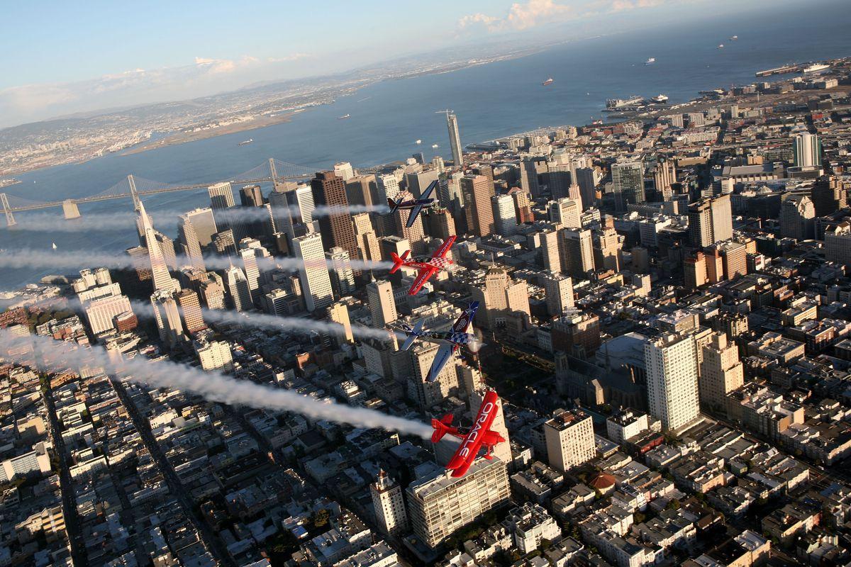 Pilots Performs At Bay Area Fleet Week