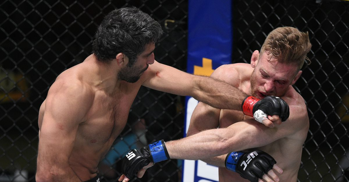 Beneil Dariush ready to get bloody if that's what it takes to beat Tony Ferguson but still doesn't expect win to earn him a title shot