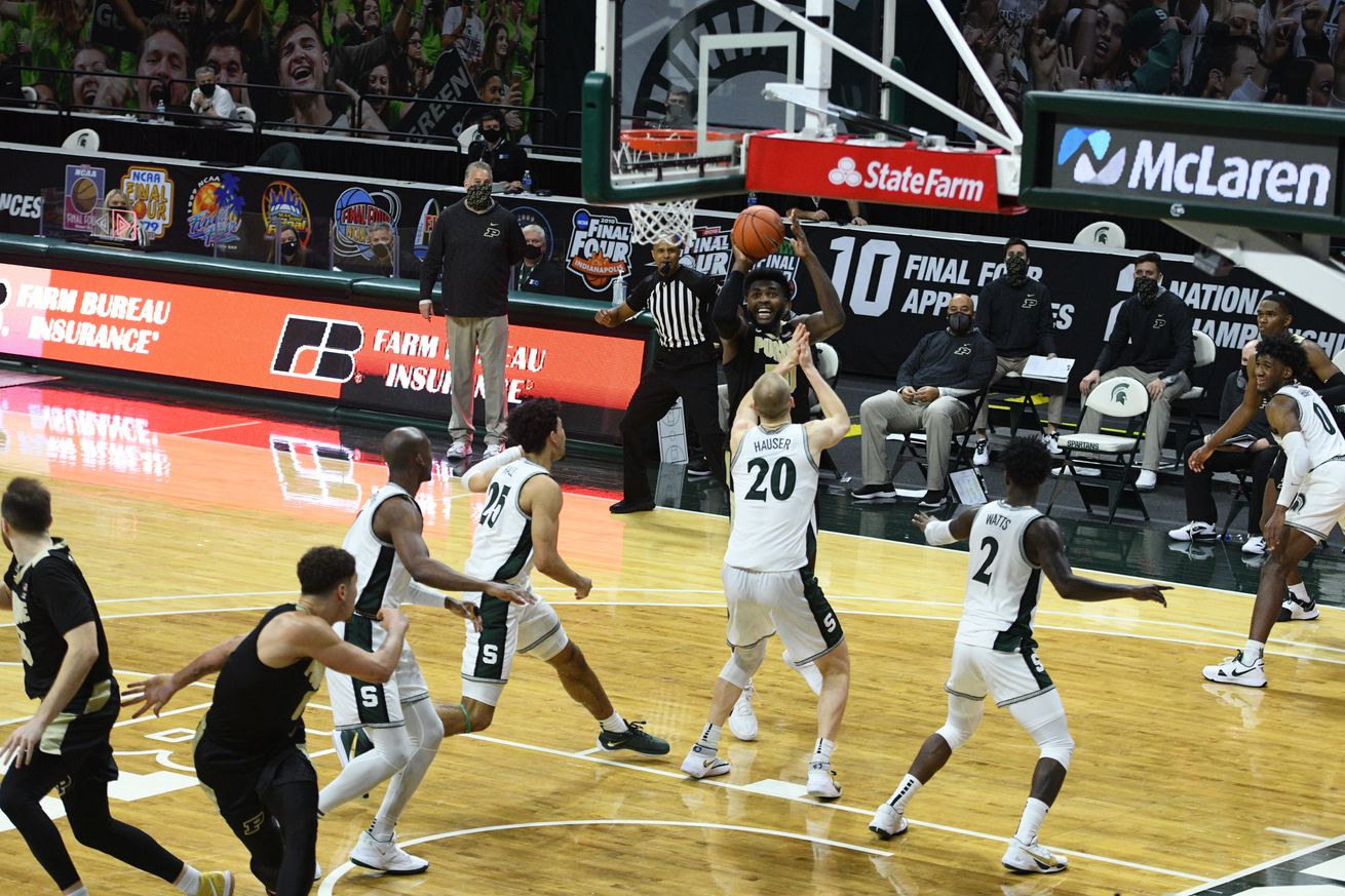 NCAA Basketball: Purdue at Michigan State