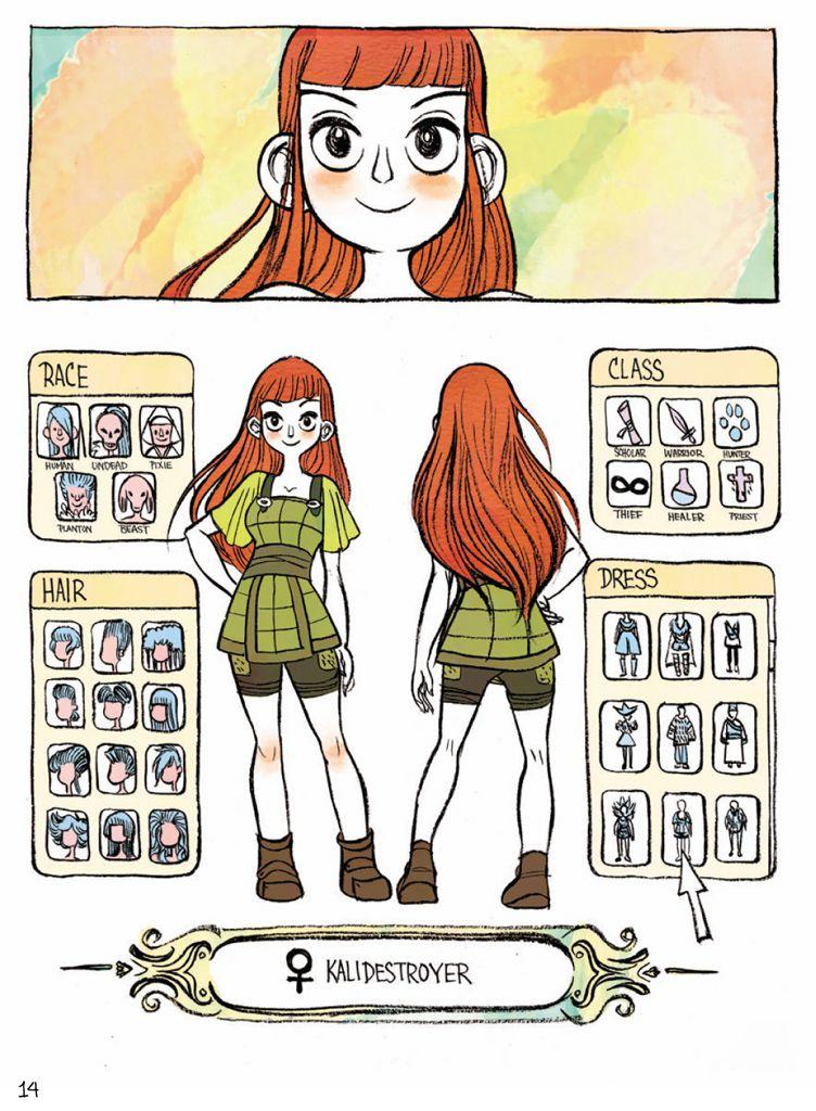 IRL character creator